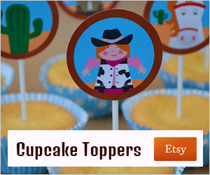 advertentie cupcake-topper